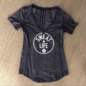 Lululemon Sweat Life Tee